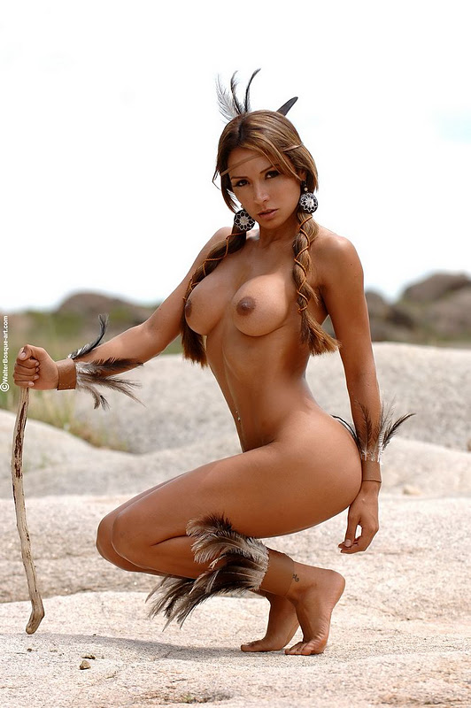 native american girl nude