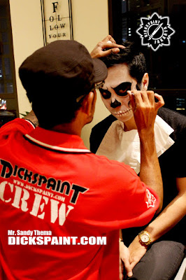 Make Up Horror Skeleton Jakarta