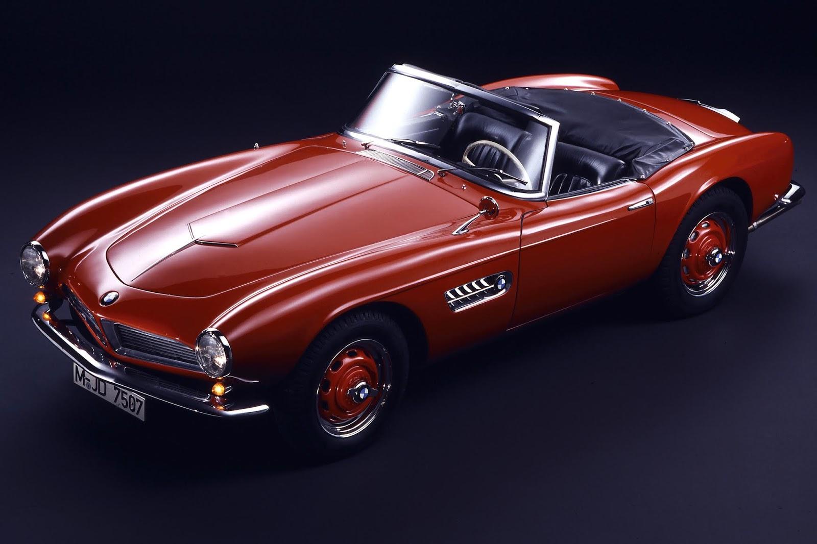 Most Beautiful Cars: 1955 BMW 507