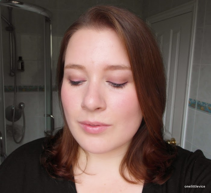 All about the eyes makeup look