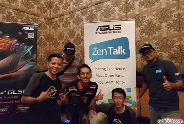 "Serunya Acara Road Show "" Asus Challenge Your City "" Di Surabaya"