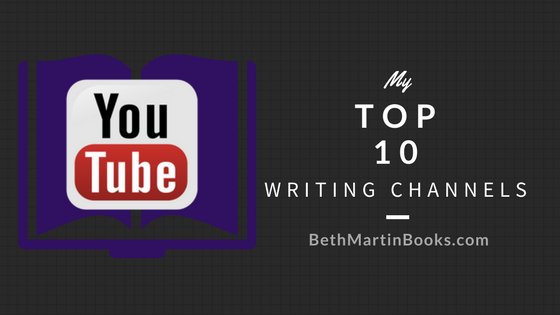 Top 10 Writing Channels on YouTube