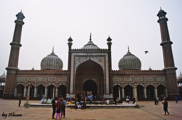 Moscheea-Jama Masjid-New-Delhi-India
