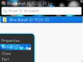 cara ekstrak file di blackberry