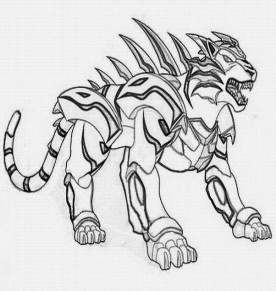 Printable Coloring Pages: Printable bakugan coloring pages