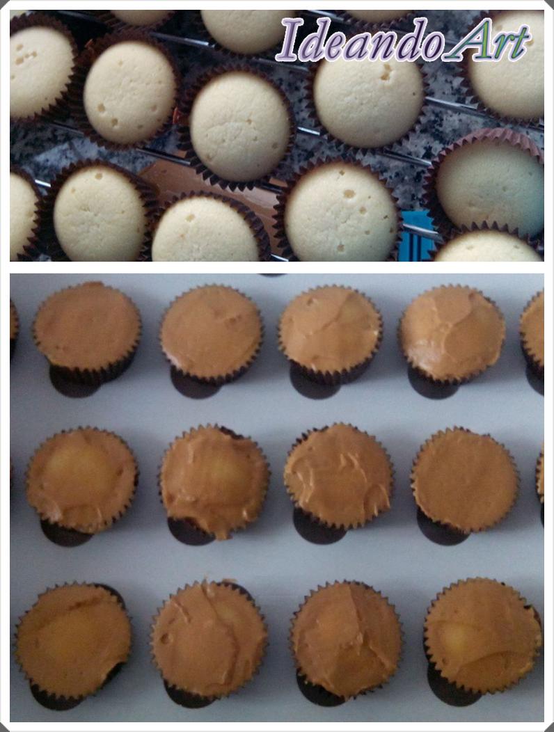 Cupcakes buttercream dulce leche