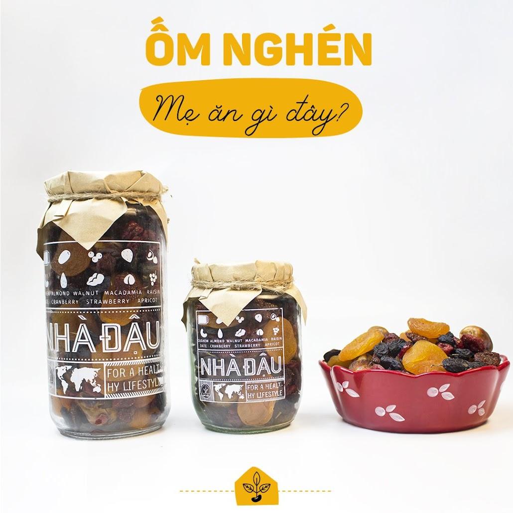 [A36] Tăng cường dinh dưỡng cho Mẹ Bầu nhờ combo ăn vặt Nhà Đậu
