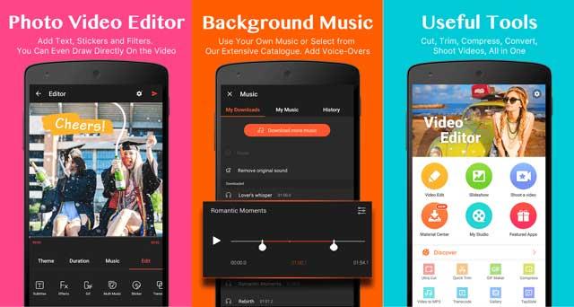 Menggabungkan Foto dan Lagu Menjadi Satu Video di Android