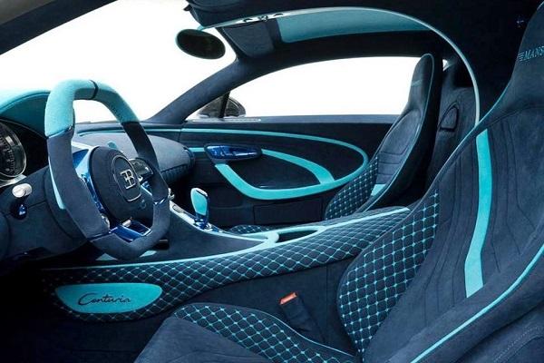Interior Mansory Centuria Bugatti Chiron