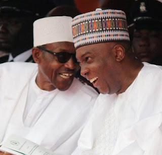 Strained Relationship: Helpless President Buhari Woos Saraki