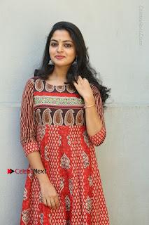 Telugu Actress Nikhila Vimal Latest Stills in Anarkali Dress  0082.JPG