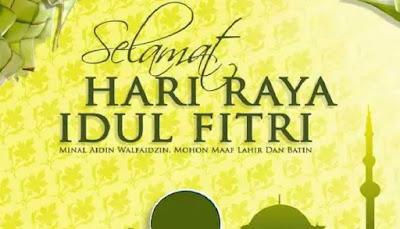 Kumpulan Ucapan Selamat Idul Fitri 1439 H dan Lebaran 2018