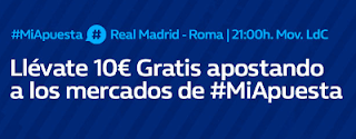 william hill promocion Champions Real Madrid vs Roma 19 septiembre