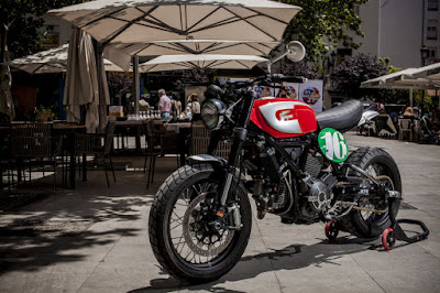 Ducati Scrambler Custom by XTR Pepo