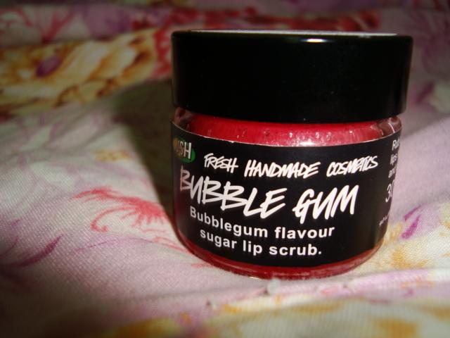 review lush bubblegum lip
