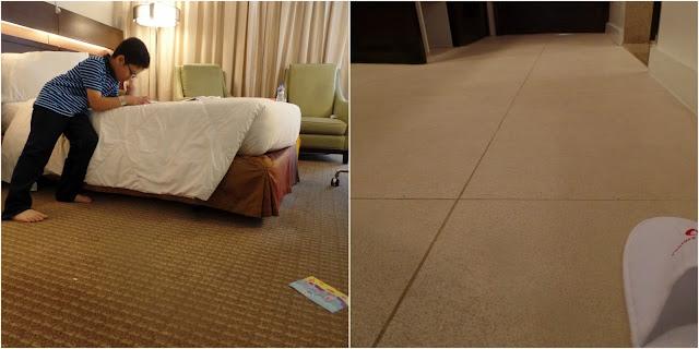 Century Park Hotel Deluxe Room floor