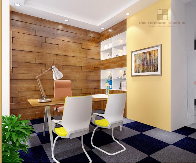 Thiết kế nội thất phòng giám đốc độc đáo, tiện ích, chi phí thấp - H1
