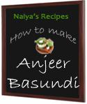 how to make basundi at home