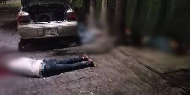 Imágenes del terror de la perla tapatía en Guadalajara Sicarios ahora irrumpen en borrachera y ejecutan a 6.