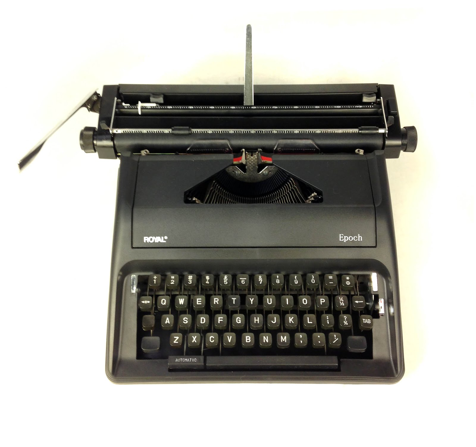 Medium answer: The Epoch is a recently manufactured manual portable  typewriter that you can currently (March 2017) find for sale, new, from  around $150 to ...