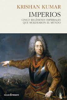 """""""Imperios. Cinco regímenes imperiales que moldearon el mundo""""  libro - bellumartis historia militar"""