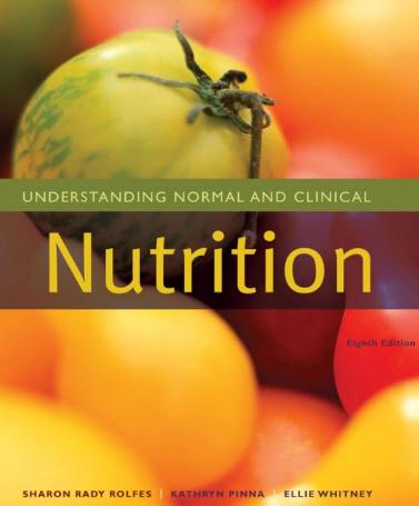 Hiểu về Dinh dưỡng bình thường và Lâm sàng 8e