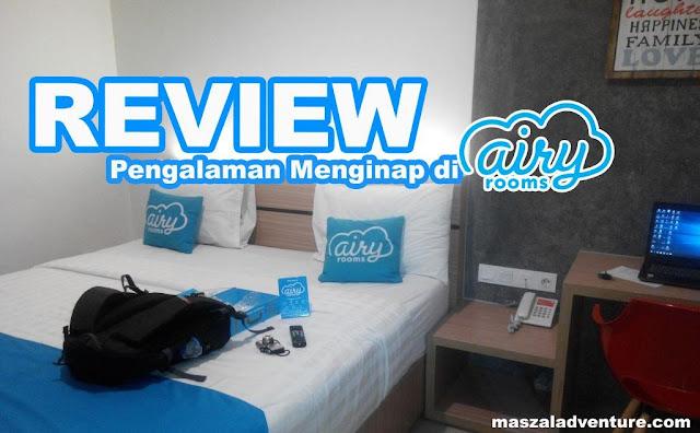 review pengalaman Menginap di Airy Rooms Cikarang