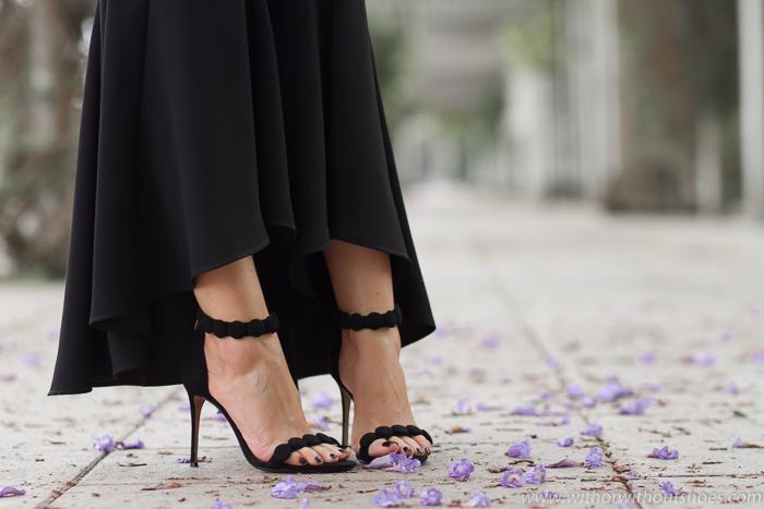 Sandalias con pulsera clon Aquazzura de Raye