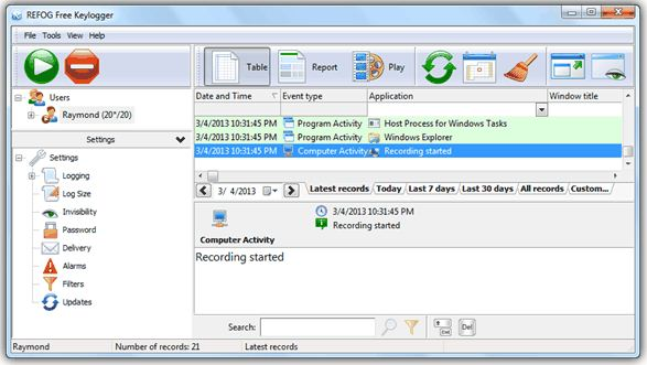 Top 10 Best Free Keylogger Software to Spy Keystrokes on Computer