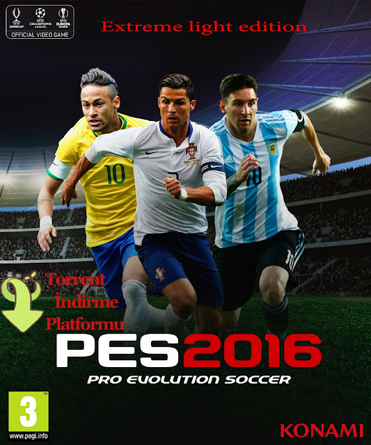 PES 2016 exTReme Light Edition tek link indir