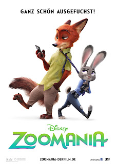 Zoomania Movie Poster