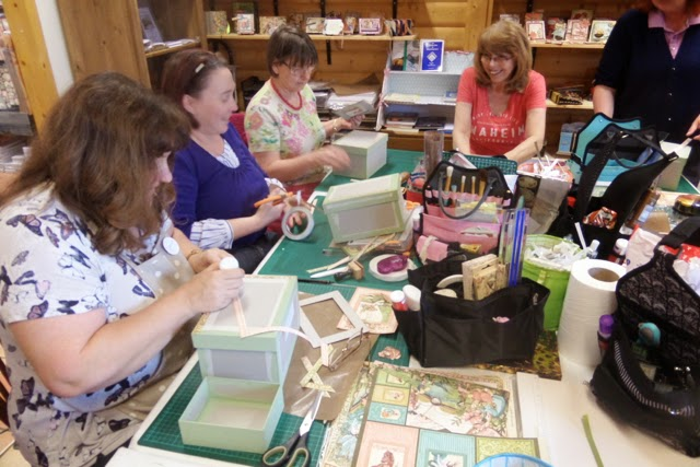 Crafting at Scotch Lodge Farm with Clare Charvill Graphic 45