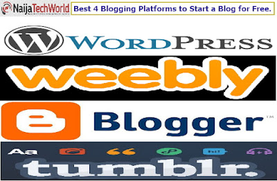 Best 4 Blogging Platforms to Start a Blog for Free