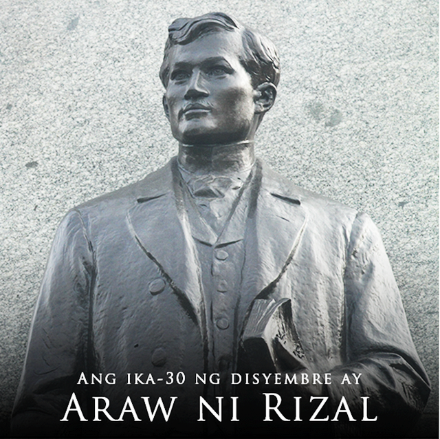 RIZAL DAY: December 30