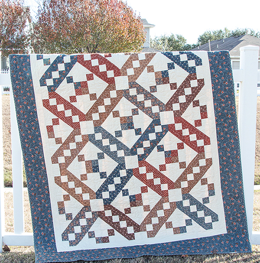 Jacob's Ladder Quilt Free Pattern
