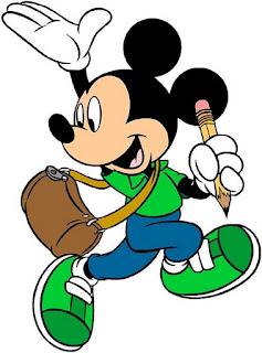 Clipart de Mickey Mouse.