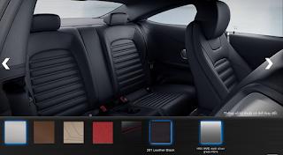Nội thất Mercedes AMG C63 S 2015 màu Đen Leather 201