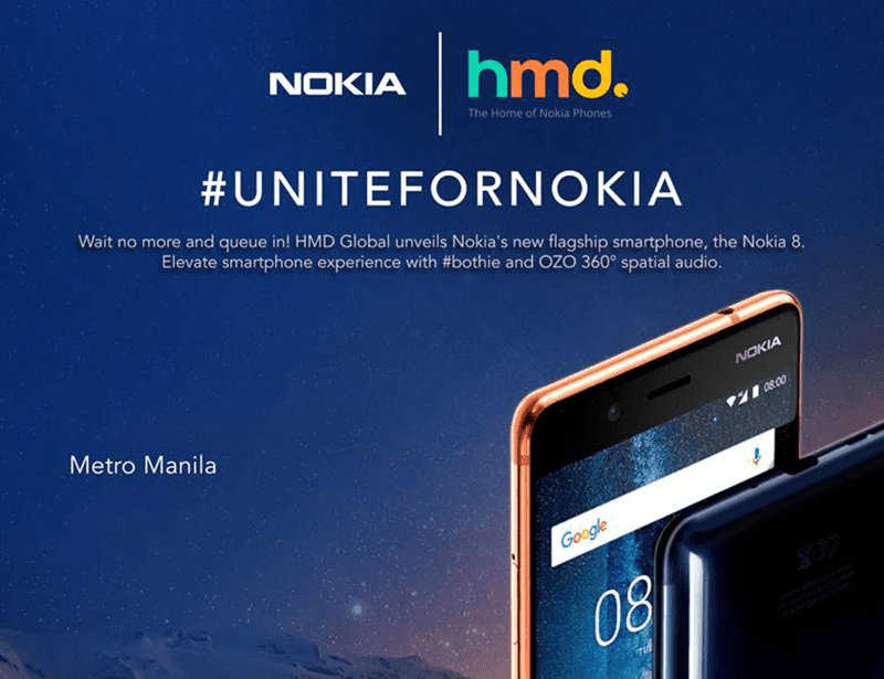 Nokia 8 Flagship Will Launch In PH This September 29
