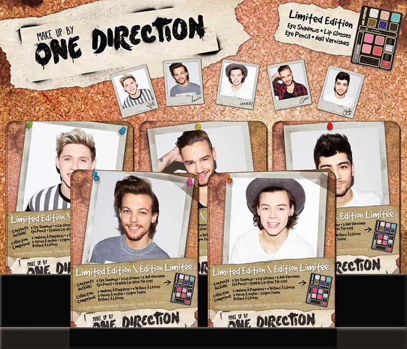 Makeup By One Direction Limited Edition Tins - photo credit: Markwins International