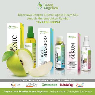 Obat Penumbuh Rambut, Paket Penumbuh Rambut Green Angelica, Obat Penumbuh Rambut Ampuh