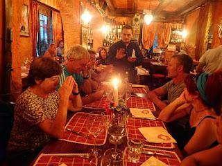 Cena en Cervinia