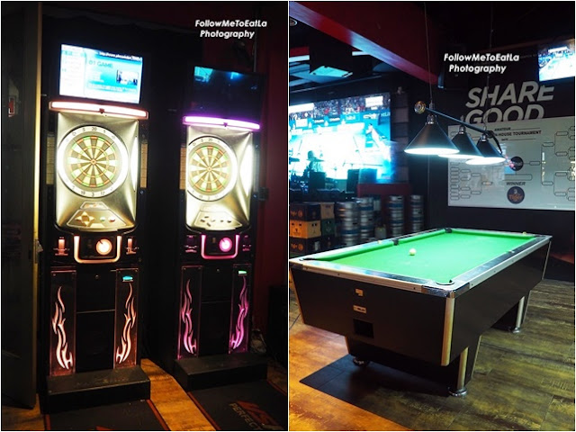 Fancy playing a spot of pool or darts while having a cocktail