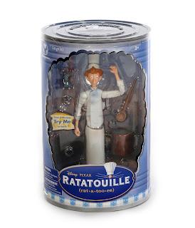 pixar ratatouille disney store figures 2007 linguini