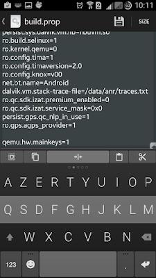 Comment désactiver les touches capacitives (et activer les boutons virtuels ) d'un Samsung Galaxy, A Unix Mind In A Windows World