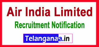 Air India Limited Recruitment Notification 2017