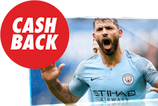 circus cashback 15 euros Liverpool vs City 3 octubre