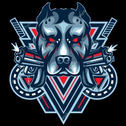 logo anjing transparan