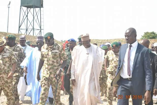 COAS Buratai commissions Army operation base in his hometown