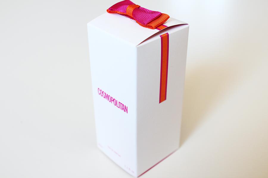 cosmopolitan perfume box