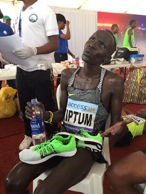 Access bank, Lagos city Marathon, Abraham Kiptom, Ojeleye Sefiu, News, Sports,